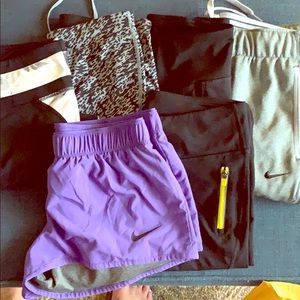 XS/S workout bottoms bundle! Nike and Fabletics!